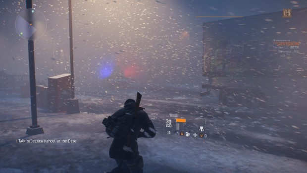 The Division features some beautiful snow graphics