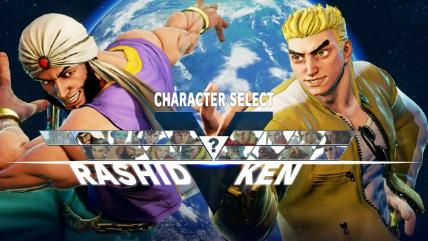 Street Fighter V's Ken does not have a good haircut