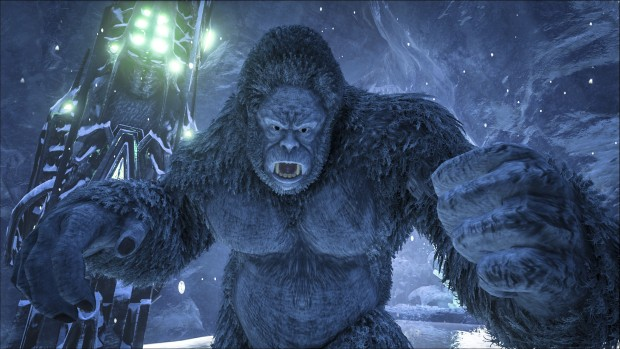 Ark Survival Evolved has some angry Yetis