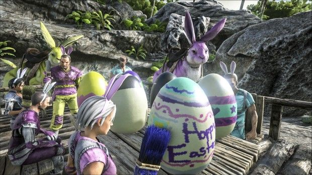ARK: Survival Evolved has dinosaur bunnies now