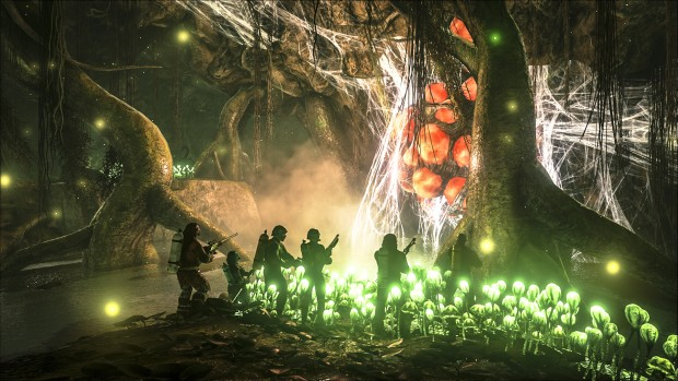 Ark Survival Evolved Swampy cave