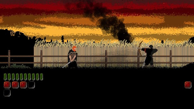 Bannerman battle with archer screenshot