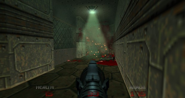 Brutal Doom 64 improved lighting
