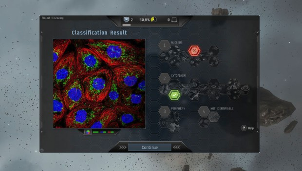 EVE Online allows you to help out real science through Project Discovery