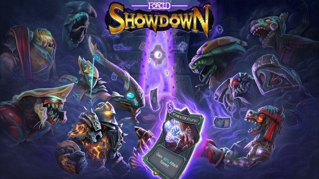 FORCED Showdown is an action RPG roguelike with twin-stick elements