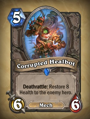 Hearthstone Corrupted Healbot card
