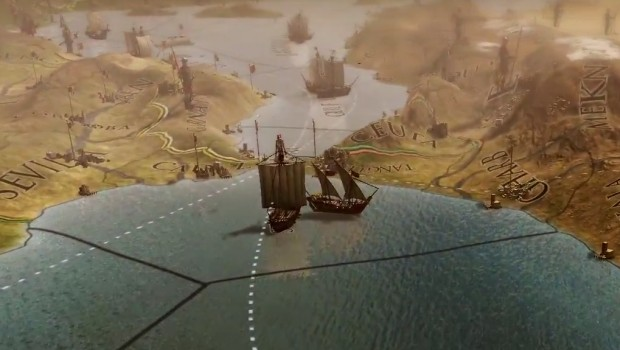 Mare Nostram allows you to carry out trade routes and ship missions