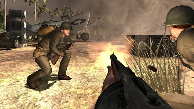 "Medal Of Honor: Pacific Assault is ""on the house"""