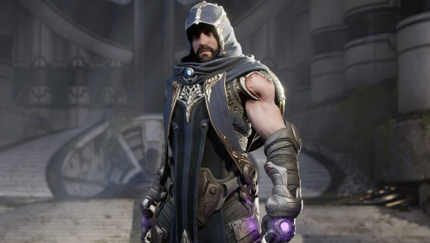 Gideon the mage from Paragon