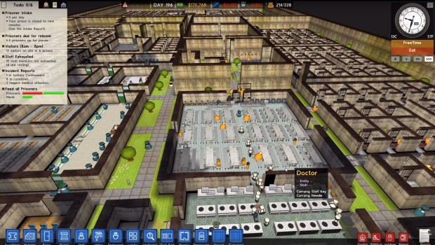 Prison Architect Update 5 brings massive performance increase