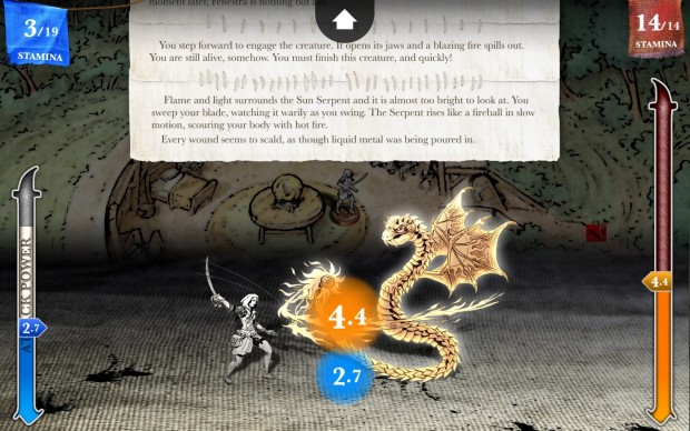 Sorcery! part 3 - Fighting Serpents