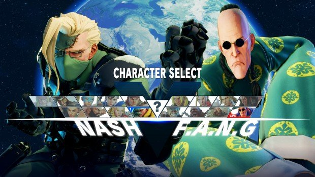 Street Fighter V Nash and F.A.N.G Story Costumes