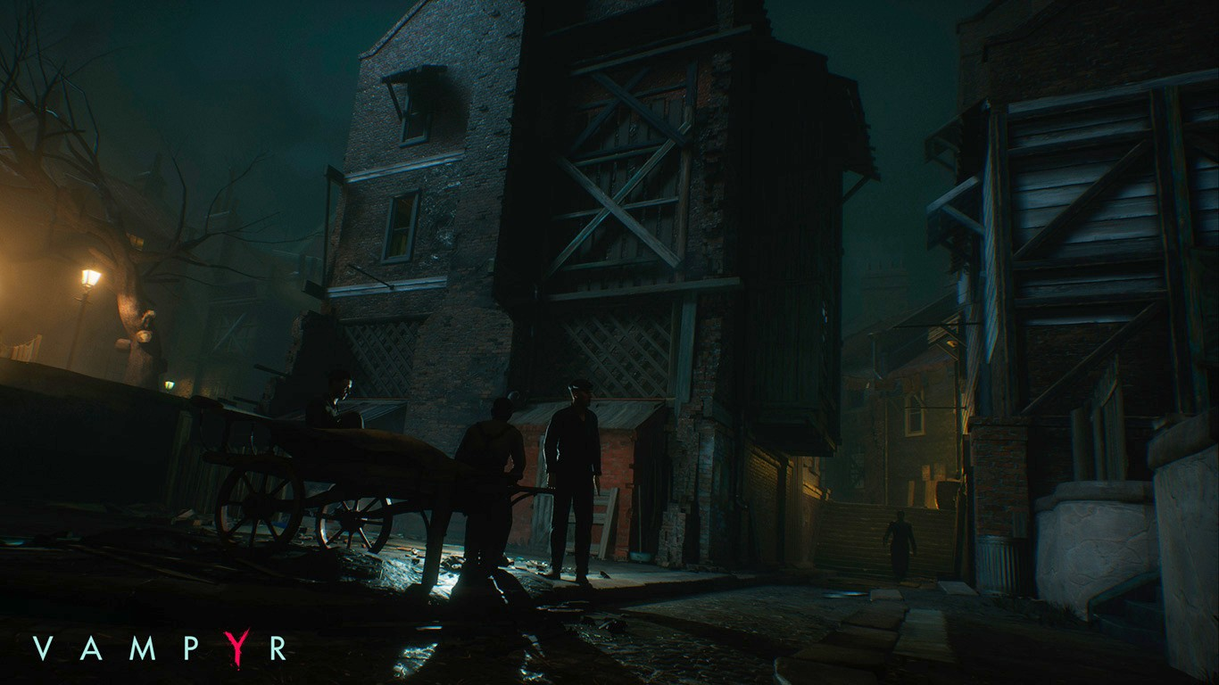 A screenshot from the upcoming Vampyr game