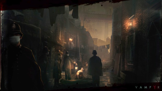 First screenshots from the upcoming vampire RPG Vampyr