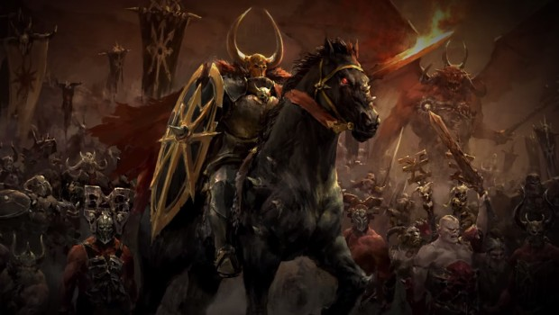 Archaon the Everchosen, champion of chaos from Total War: Warhammer