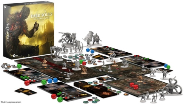 Dark Souls 3 board game has been fully funded