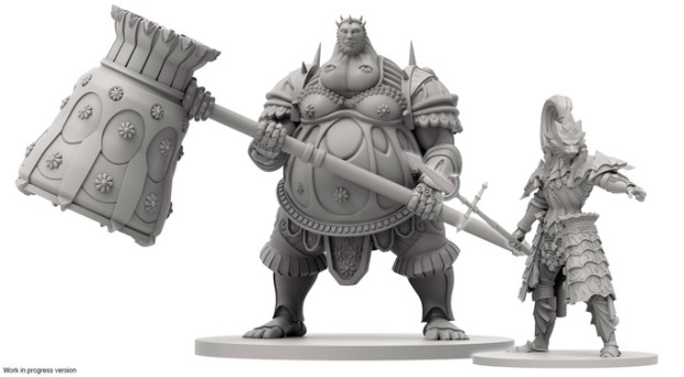 Dark Souls 3 board game features everyone's favorite bosses: Ornstein and Smough