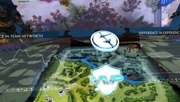 Dota 2 will allow you to virtually spectate competitive games