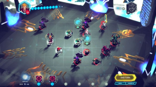 Duelyst is a combination between a card game and turn-based tactics game
