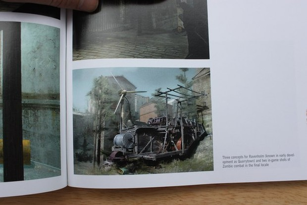 Half Life 2's concept art for Quarrytown, or more commonly known as Ravenholm