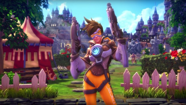 Tracer has arrived to Heroes of the Storm