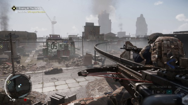 Homefront: The Revolution features some very bland colors