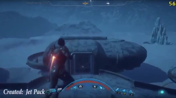 Leaked Mass Effect: Andromeda gameplay shows jetpacks