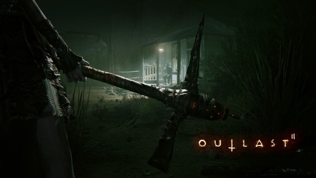 Outlast 2 official artwork and logo