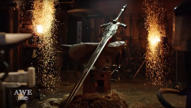 Greatsword of Artorias created in real life