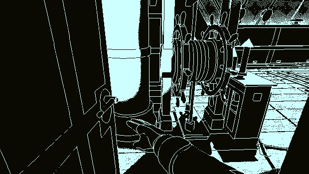 Return of the Obra Dinn features a first person perspective