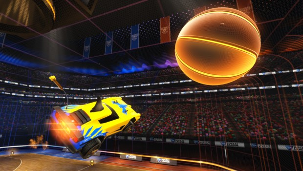 Rocket League is adding Hoops - a basketball themed mode
