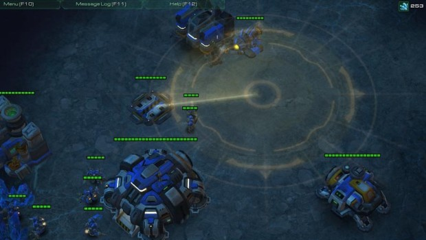 Starcraft 2's scan ability