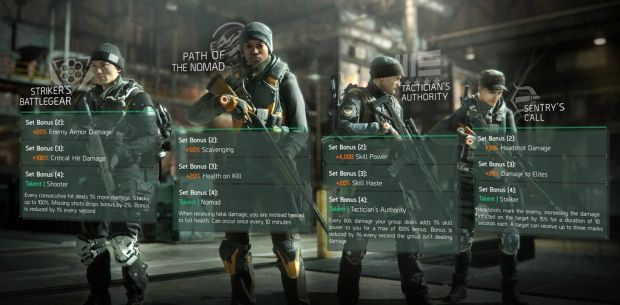 The Division end-game gear stats
