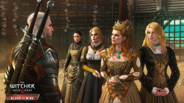 The Witcher 3 Blood and Wine features some lovely ladies, and plenty of color