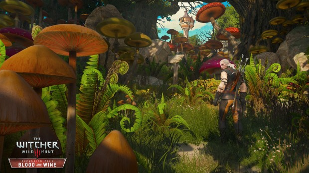 Witcher 3 Blood and Wine mushrooms