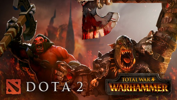 Total War: Warhammer is making an official collaboration with Dota 2