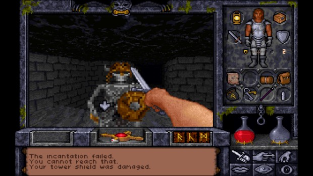 Ultima Underworld 2 skeletons were a rather ugly bunch