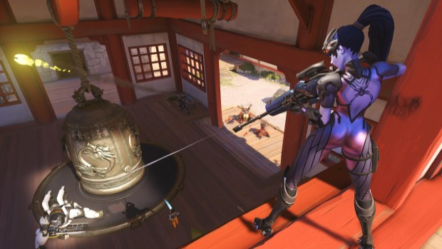 Overwatch Widowmaker is a sniper class with a massive...asset