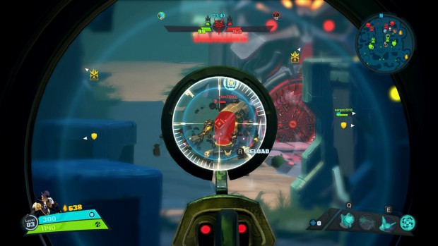 Battleborn's Meltdown game mode features wide open spaces