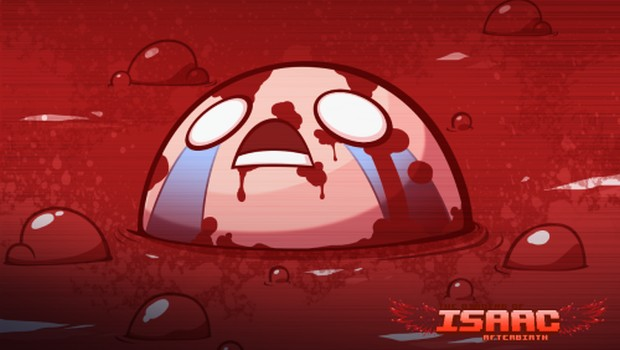 The Binding of Isaac Afterbirth official artwork for the console version