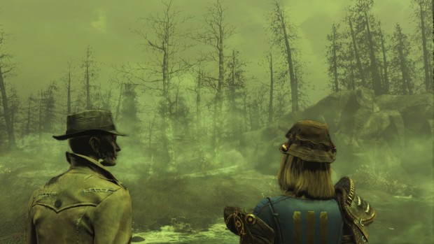 Fallout 4's Far Harbor is a heavily irradiated place