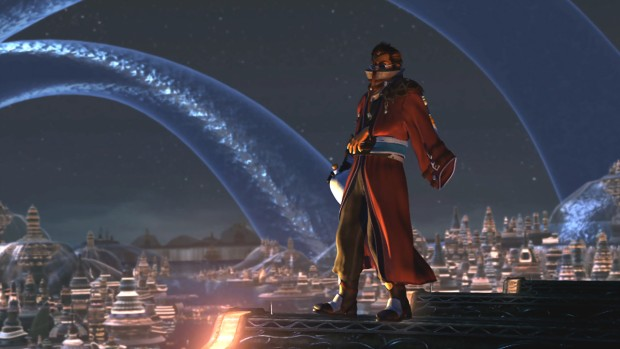 Final Fantasy X/X-2 HD Remaster screenshot of one character