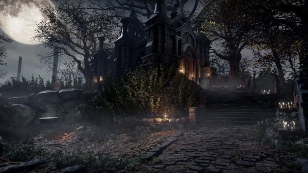 Unreal Engine 4 recreation of the Hunter's Dream from Bloodborne