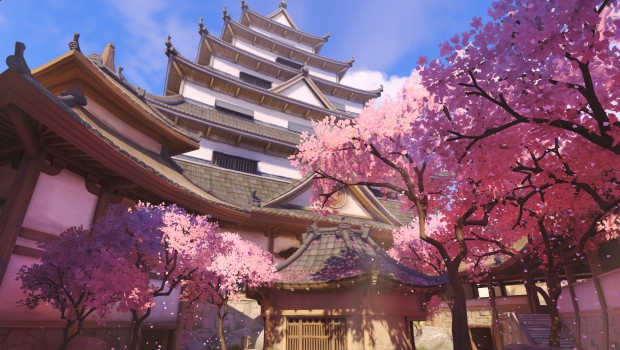 Overwatch screenshot of Hanamura
