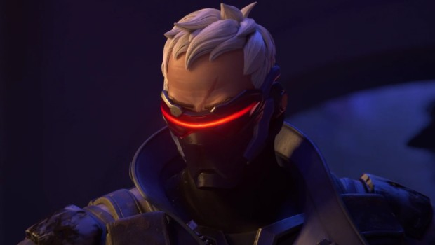 Soldier 76 from Overwatch, also known as Captain Morrison