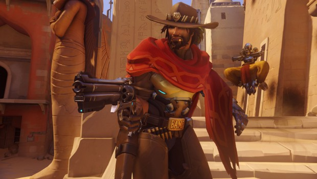 Overwatch's McCree and Zenyatta