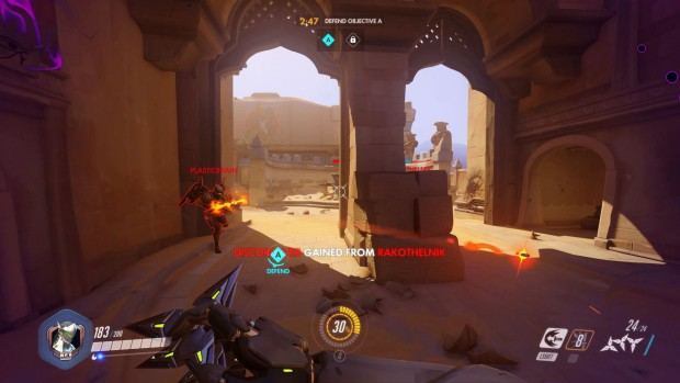 Overwatch features some nasty choke-points in its map design
