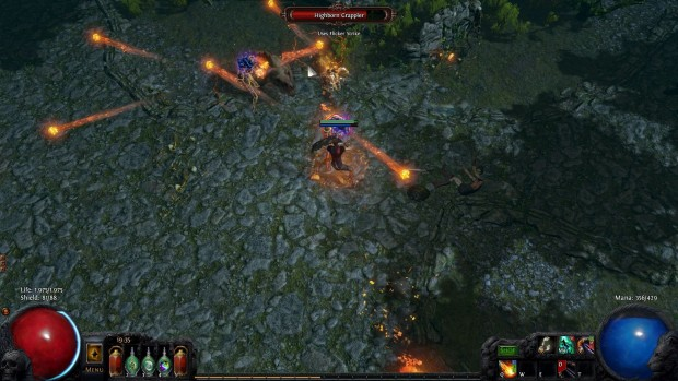 Gems in Path of Exile allow you to go crazy