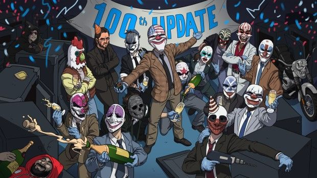 Payday 2's update 100 is coming Thursday