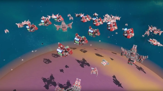 Planetary Annihilation community mod brings a brand new faction